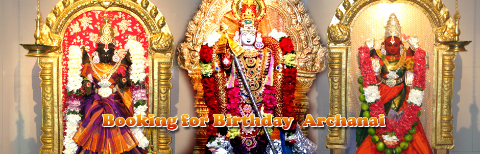 Booking for BirthDay Archanai click here